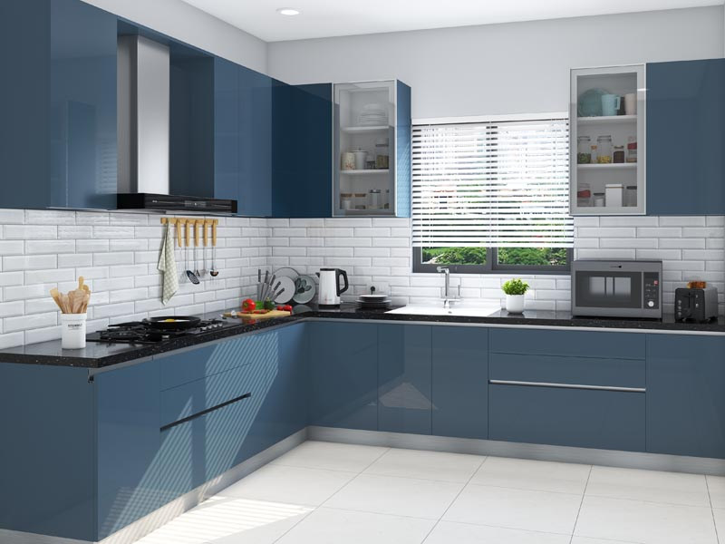 Modular Kitchen Designs With Prices | HomeLane on Model Kitchen Ideas  id=96946